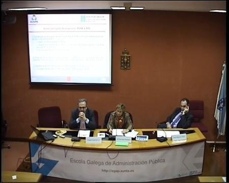 Mª Nava Castro Domínguez, directora xeral de Comercio da Xunta de Galicia - Seminario Desafíos de la Gestión Pública Democrática y las Políticas Públicas en Brasil y la CCAA de Galicia